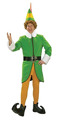 Deluxe Buddy the Elf Costume - Medium - Chest Size 42 (Deluxe Buddy The Elf Costume)