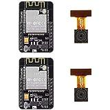 2 Pack ESP32-CAM WiFi Bluetooth Camera Module Development Board ESP32 with Camera Module OV2640