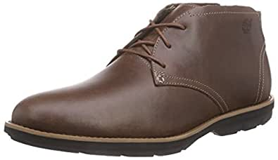 Timberland CA15RD Men's Kempton Chukka Shoes, Color: Brown, Size: 12(M) US