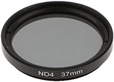 NDフィルター DSLRカメラレンズ対応 光学ガラス 減光フィルター ニュートラル - 37mm