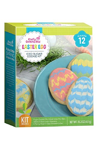 Easter Egg Iced Sugar Cookie Kit | Easter Fun for All Ages