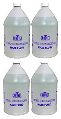 (4) CHAUVET HURRICANE HFG Smoke/Fog Haze Machine Fluid from CHAUVET