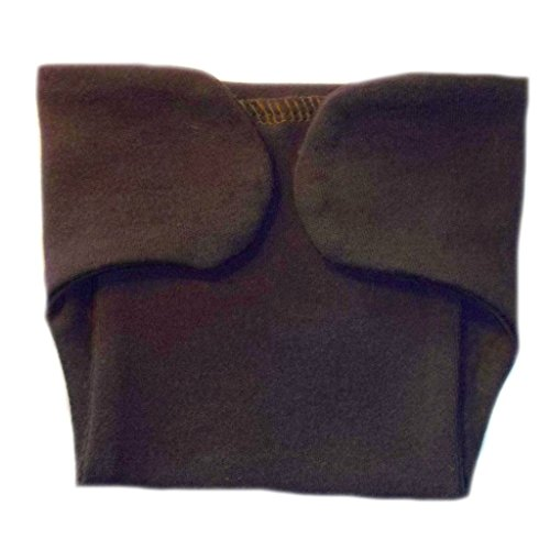 - Jacqui's Unisex Baby Cotton Knit Diaper Covers - Lots of Colors, 0-3 Months, Brown