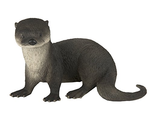 Otter Toy - Safari Ltd. River Otter - Realistic Hand Painted Toy Figurine Model - Quality Construction from Phthalate, Lead and BPA Free Materials - For Ages 3 and Up