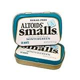 Altoids Sugar Free Small Mints - Wintergreen, 50 mints, pocket size tin, 9 count