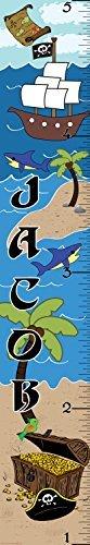Mona Melisa Designs Customized Pirate Jacob Jacob Mona Growth Chart Decorative Designs Wall Sticker [並行輸入品] B077YWPLD5, CLOSPOT:521f66a7 --- ijpba.info