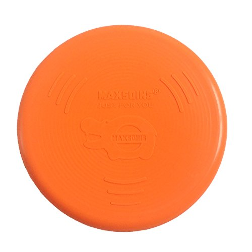 Dachshund Disc Charm (Charmsong Flying Disc Soft Toy Flyer Durable Silicone Safety Frisbee Orange)