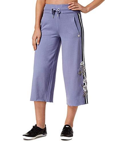 Calvin Klein Performance Womens Culotte Fitness Capri Pants Purple M