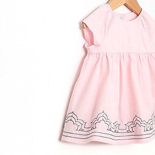 Robeez Dress Casual Diaper Dress with Pink Girls Sleeveless Cover UAUgwOr