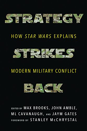 Book cover from Strategy Strikes Back: How Star Wars Explains Modern Military Conflict by Max Brooks
