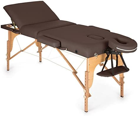 Klarfit MT 500 Camilla de masajes plegable 210cm 200 kg (Fácil ...