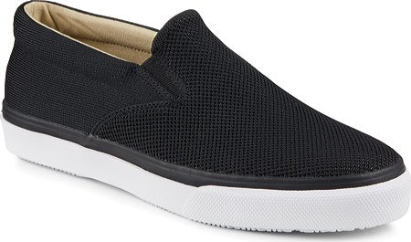 Sperry Top-sider Heren Striper Slip-on Gebreide Zwarte Sneaker 12 M (d)