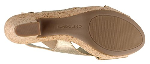 Bandolino Womens Mopina Gouden Sandaal - 6 B (m) Ons