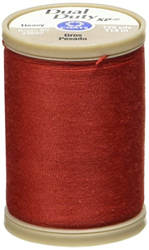COATS & CLARK S950-2250 Dual Duty XP Heavy Thread, 125 Yards-Red