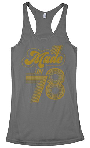 Threadrock Women's Made In 1978 Racerback Tank Top