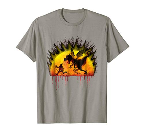 Breathing Fire T-shirt Dragon (How Not To Train Your Fire Breathing Dragon T-Shirt)