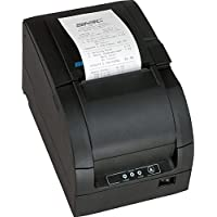 SNBC 132083 Model BTP-M300D Impact Receipt Printer with USB and Serial Interface, Black, Fast 4.7 Lines per Second Print Speed, Drop and Print Paper Loading, Stores and Prints Logo Images, Built-In Wall Mount Capability, Paper-End Sensor