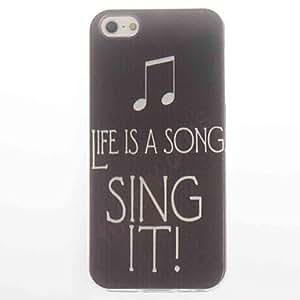 MOFY- cantarla dise–ar caso suave para el iphone 4 / 4s