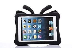 Black Kids Shockproof Foam Eva Butterfly Stand Case for iPad mini