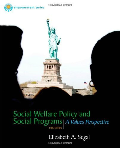 By Elizabeth A. Segal Brooks/Cole Empowerment Series: Social Welfare Policy and Social Programs (3rd Edition)