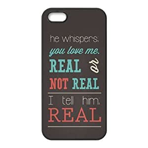 First Design Custom The Hunger Games Real Or Not Quotes Best Durable RUBBER Silicone Iphone ipod touch4 Case