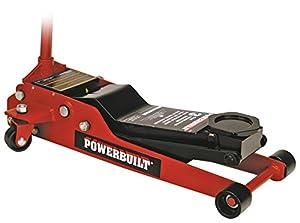 Powerbuilt 647580 3 Ton Low Profile Service Jack