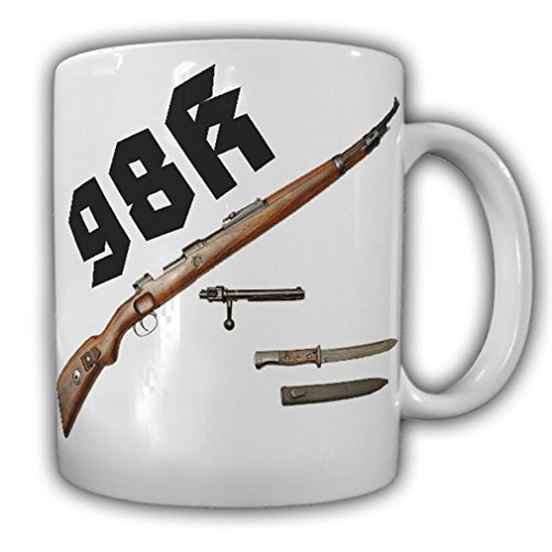 - K98 German action rifle model 98 carbine Army Guard Battalion Bundeswehr Deco weapon - Coffee Cup Mug