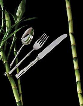 (Ricci Flatware Bamboo Grapefruit Spoon Set)