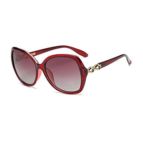 Aoligei Lunettes de soleil polarisants double miroir conduite actuel couleur-lunettes de soleil-peinture aoFJbnG4
