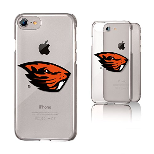 n State Beavers KCLRI7-0ORS-INSGN1 Apple iPhone Clear Case, iPhone 8/7/6, Clear (Case Oregon State Beavers)