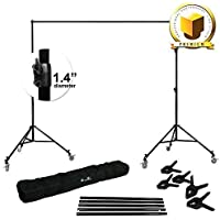 LIMO PREMIUM PRO STUDIO 12 x 12 PHOTO BACKDROP SUPPORT STAND KIT