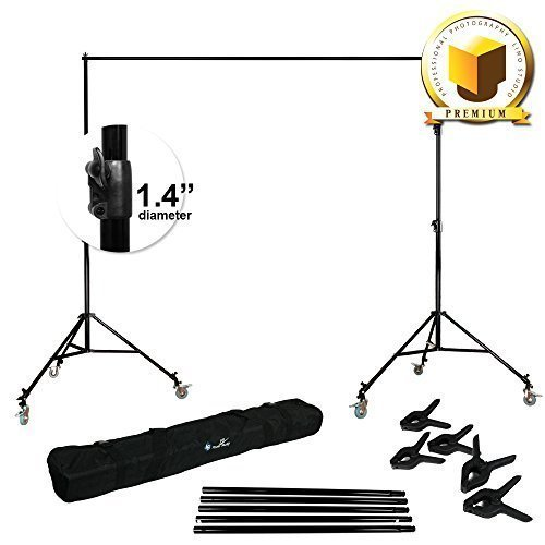 LIMO PREMIUM PRO STUDIO 12' x 12' PHOTO BACKDROP SUPPORT STA