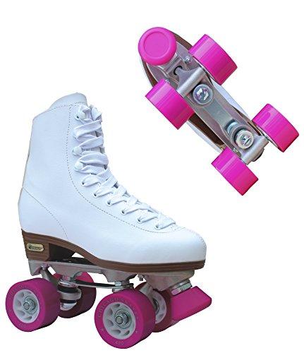 Chicago Women's Classic Roller Skates – White Rink Skates