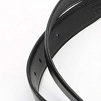 Casual Belts Business Pin Buckle 110-130cm Yuntown Mens Genuine Leather Belt
