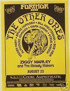 Other Ones Grateful Dead Ziggy Marley Concert Poster from ConcertPosterArt