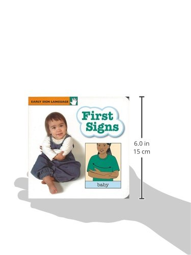 First Signs (GP111) (Early Sign Language Series) by Garlic Press