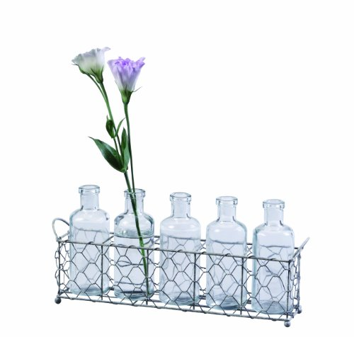 Creative Co op 12 75 Inch Holder Bottles
