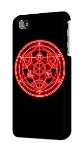 S1018 Fullmetal Alchemist Case Cover For IPHONE 5 5S