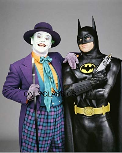 OnlyClassics 1989 Batman & The Joker Jack Nicholson for sale  Delivered anywhere in USA