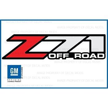 amazon com chevy silverado z71 off road decals stickers f 2001 rh amazon com z71 logos cheap z71 logo eps