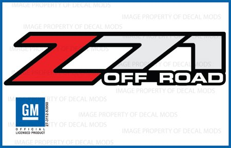 Amazoncom Chevy Silverado Z Off Road Decals Stickers F - Chevy silverado sticker