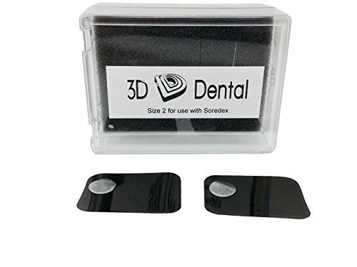3D Dental 3D-ST-2 Dental Phosphor Imaging Plates for Soredex, 2 (Pack of 4) by 3D Dental