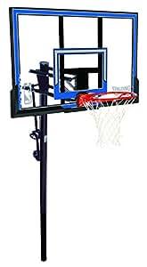 "Spalding NBA In-Ground Basketball System - 50"" Polycarbonate Backboard"