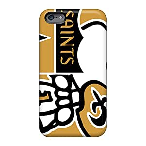 Apple Iphone 6 NBB5432TsHS Support Personal Customs Stylish New Orleans Saints Skin Protective Hard Phone Cover -KimberleyBoyes