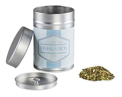 Colon Ex`s Herbal Fusion Tea, 100g natürliche Kräuterteemischung in Spitzenqualität, Inkl. Ebook: Die Schnell und einfach Kur