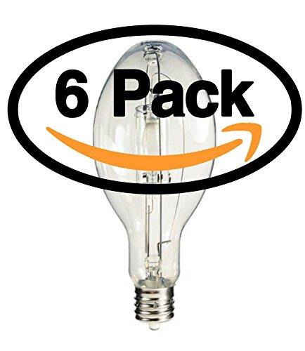 (6 Pack) Venture 21714 - MP320W/BU/ED37/UVS/PS/740 320 Watt Pulse Start Clear Metal Halide Lamp - 320W ED37 - MP320 EX39 Mogul Base ANSI M132/O M154/O - MP320/BU/PS MP320/BT37/BU/PS MCP320/PS/BU-ONLY (Ex39 Base Mogul)