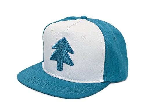Posse Comitatus Dipper Aqua Blue Pine Hat Embroidered Adult Flat Baseball Cap -