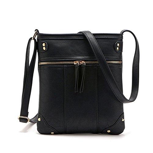 Bekilole - Crossed Black Bag For Woman
