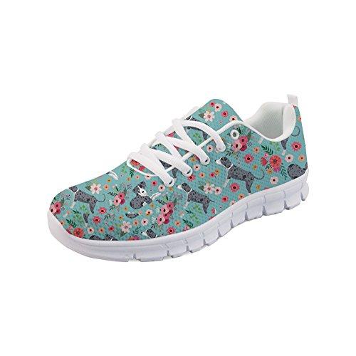 Showudesigns Design Running Color Women's Comfortable Fashion Sneaker 1 Shoes Sport axa6rqRA