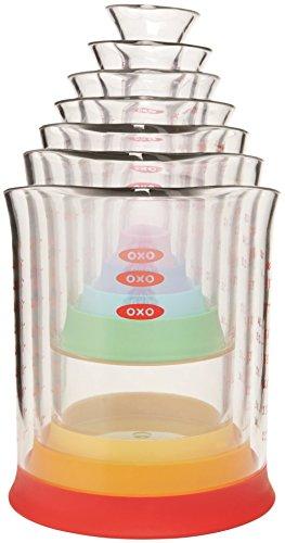 OXO Good Grips 7-pc Liquid Measuring Beaker Set - Blister Card
